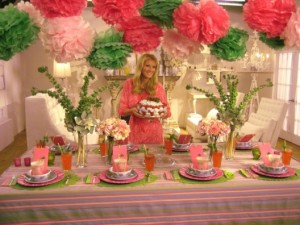 tacky tablescape explosion