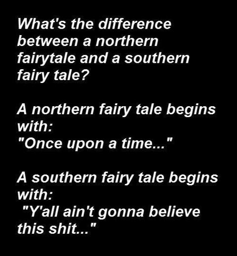 southern fairy tale